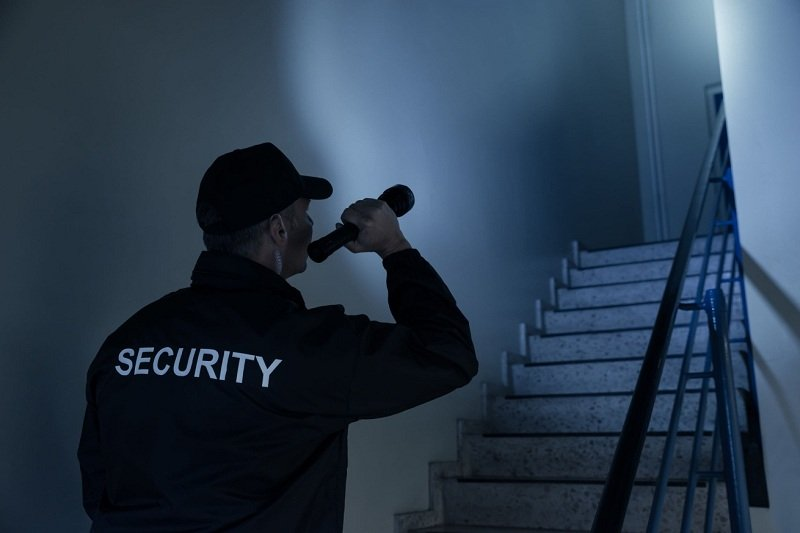 Professional Security Guard At Your Business